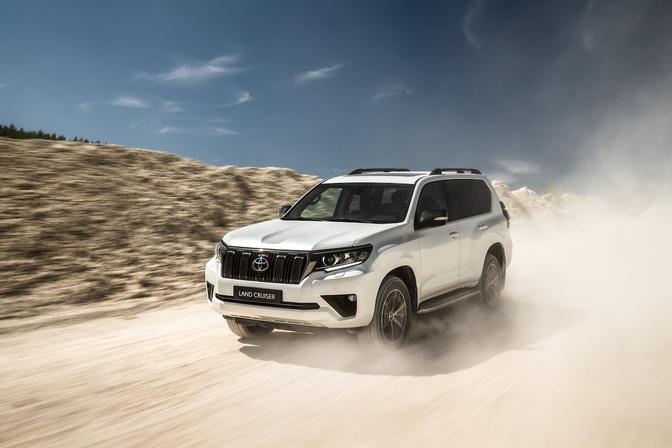 Toyota Land Cruiser update 2020