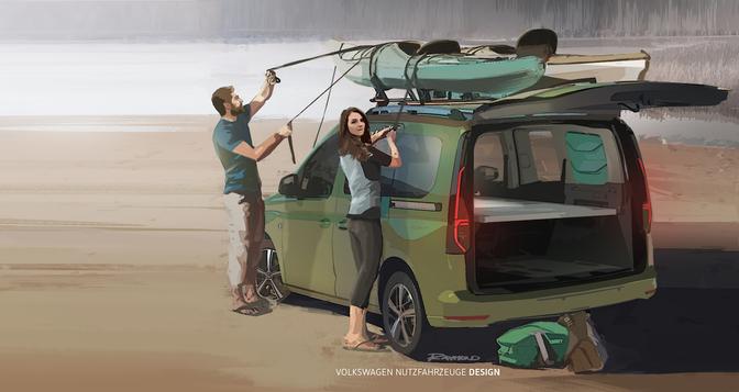 Volkswagen Caddy Beach camper 2020