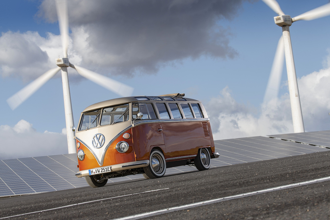 Volkswagen e-Bulli restomod 2020