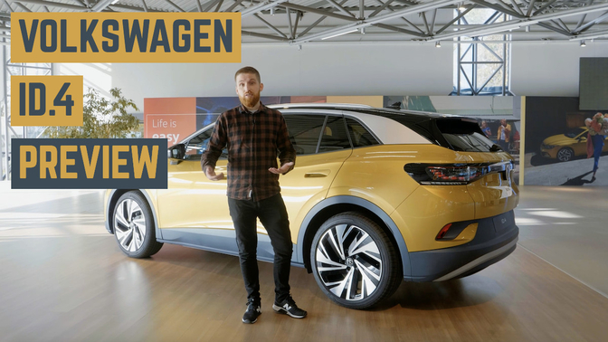 Volkswagen ID4 elektrische SUV video