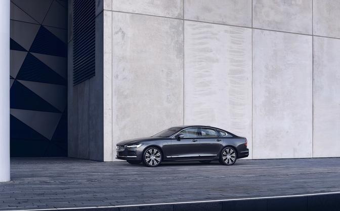 Volvo S90 V90 facelift 2020