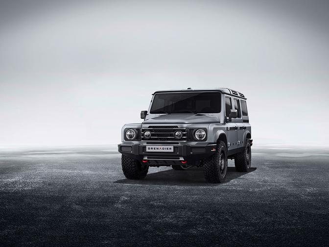 Ineos Grenadier Land Rover Defender