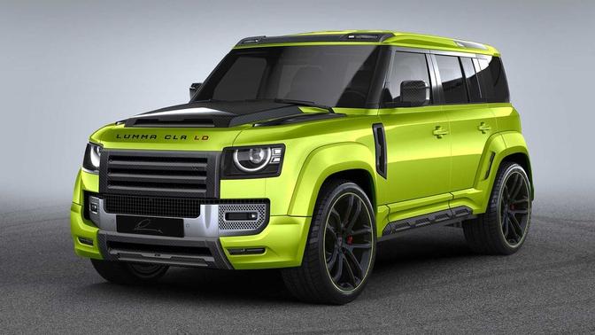 Lumma Design CLR LD Land Rover Defender 2020