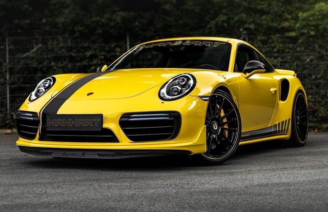 Manhart TR 850 Porsche 911 Turbo S 2020