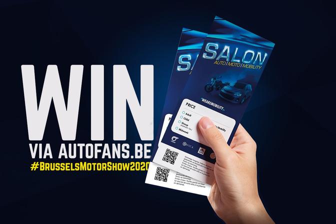 Win ticktets Autosalon Brussel 2020 Autofans