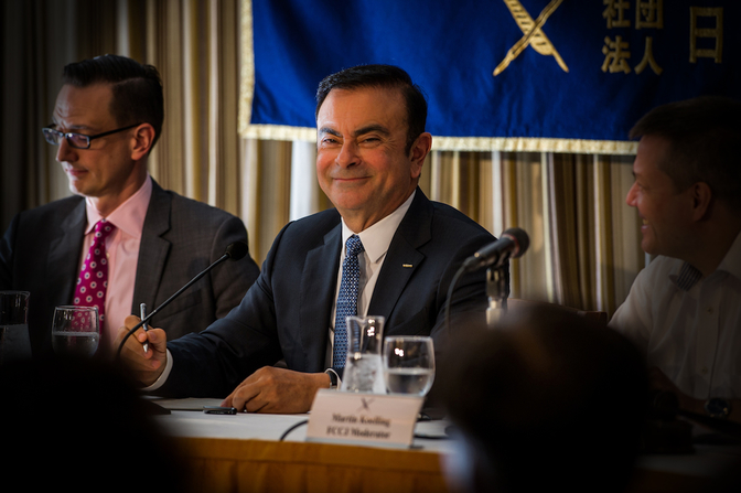 Carlos Ghosn Escape 2020