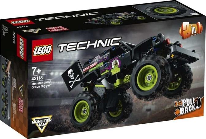 Lego Technic Grave Digger