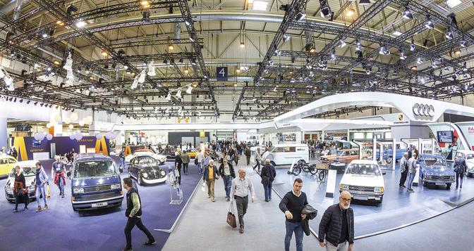 Techno Classica Essen 2020 corona