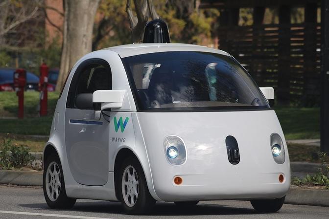 zelfrijdende auto toekomst VIAS