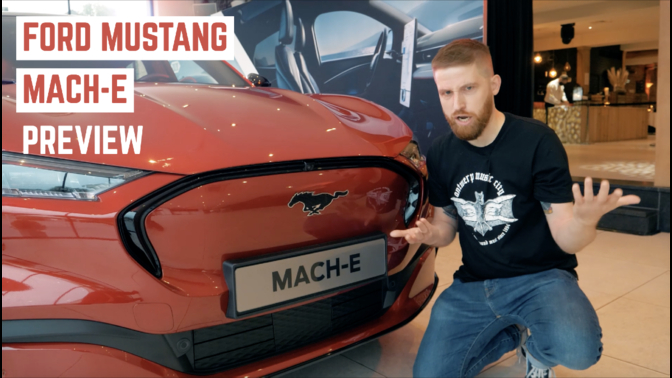 Ford Mustang Mach E video Autofans