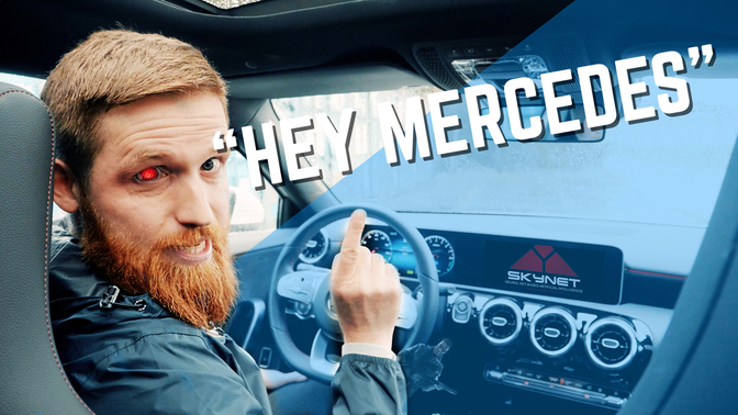 Hey Mercedes MBUX AI Personal assistent