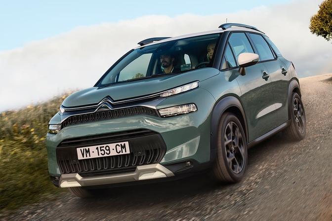 Citroën C3 Aircross facelift (2021)