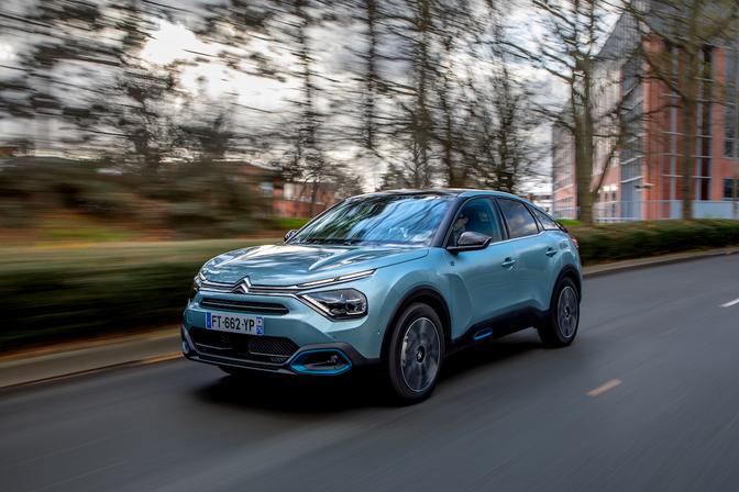 Citroën Ë-C4 test 2021