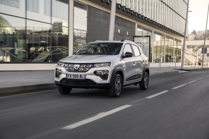 Dacia Spring Electric test 2021