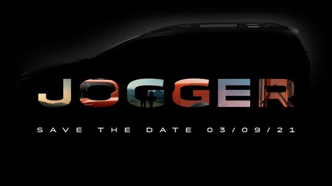 Dacia Jogger 2021 teaser