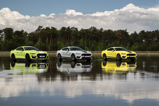 Ford Mustang Mach 1 & Shelby GT500 (2021)