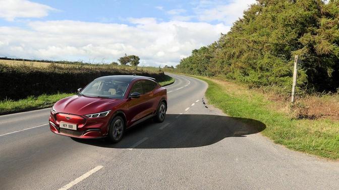 Essai Ford Mustang Mach-E 2021