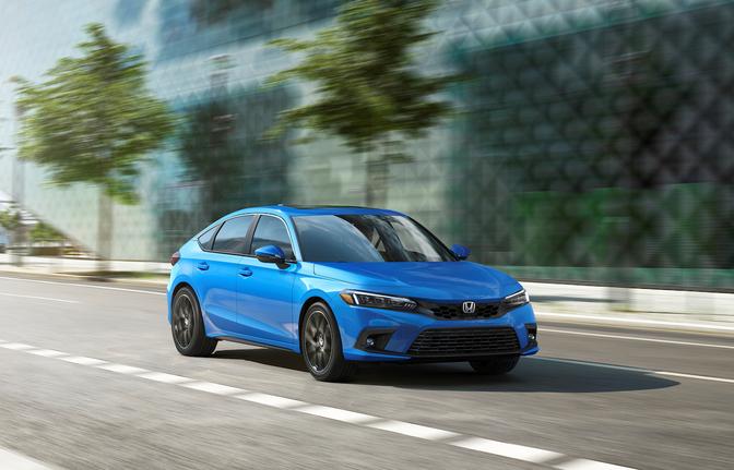 Honda Civic hatchback 2022 Europa Belgie