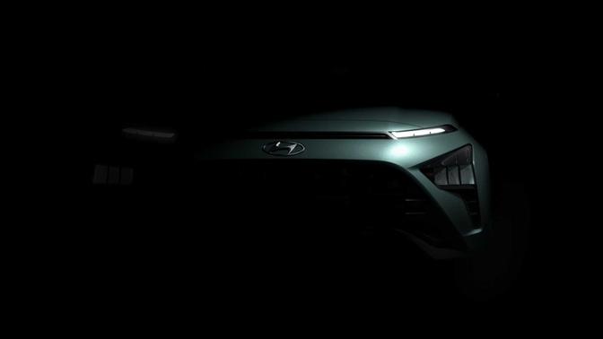 Hyundai Bayon teaser (2021)