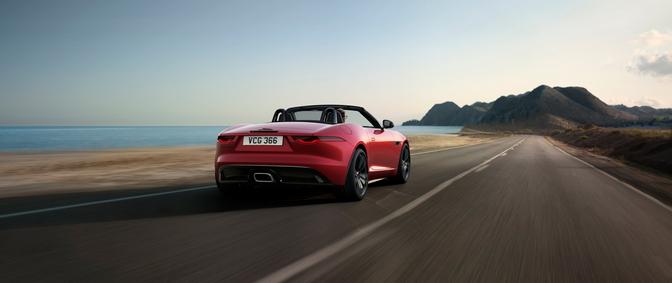 Jaguar F-Type krijgt speciale R-Dynamic Black Editie