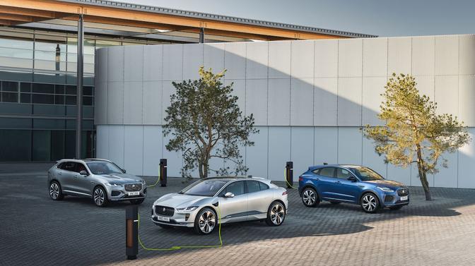 Jaguar elektrisch 2025