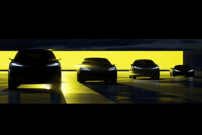 Lotus onthult 4 elektrische modellen tegen 2026