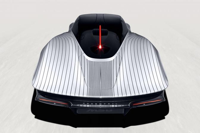 McLaren speedtail Albert 2021 back