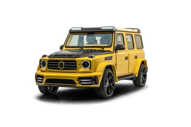 Mansory Gronos Yellow 2021
