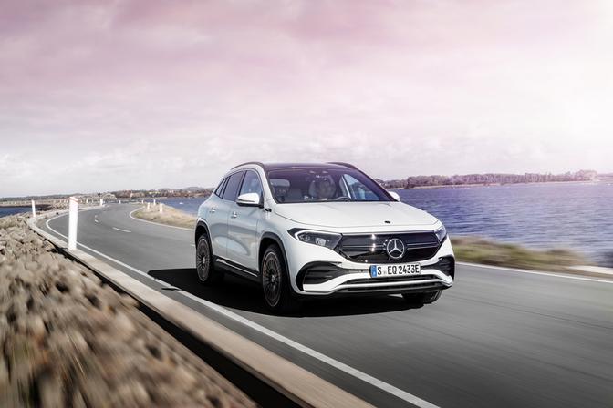 Mercedes EQA 250 test 2021