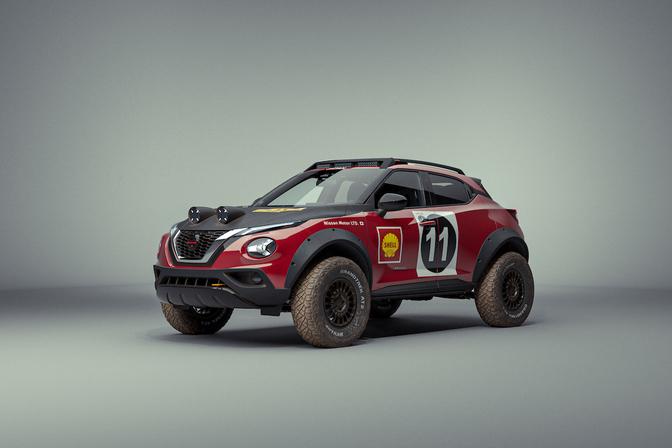 Nissan Juke Rally Tribute 2021