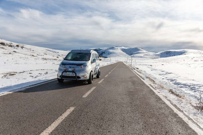 Nissan e-NV200 Winter Camper concept (2021)