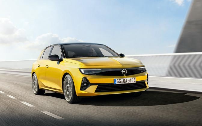 Opel Astra 2021 prijs