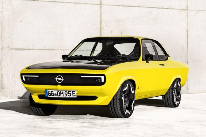 Opel Manta GSe Elektromod (2021)