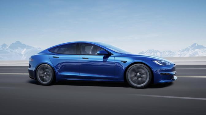 Tesla Model S Plaid Nurburgring