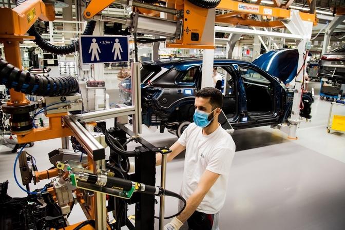 Autoproductie Belgie 2020