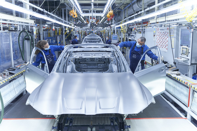 Chipstekort autosector productie