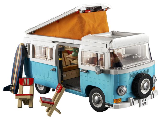 Lego Volkswagen T2 Camper Van 10279