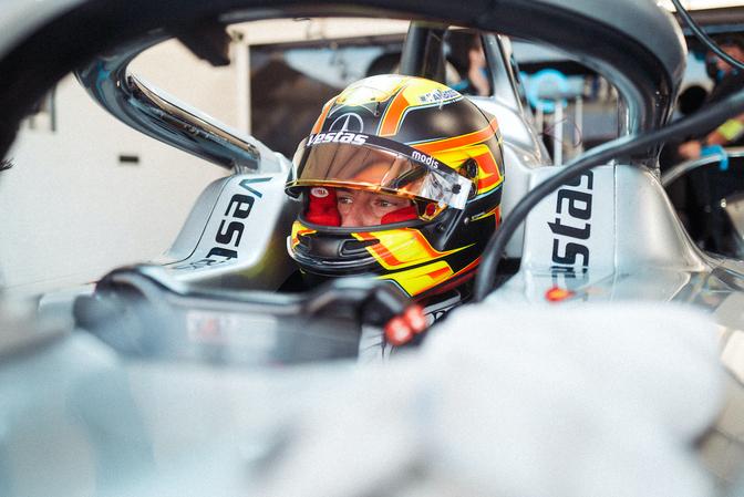 Mercedes-EQ Formula E stopt