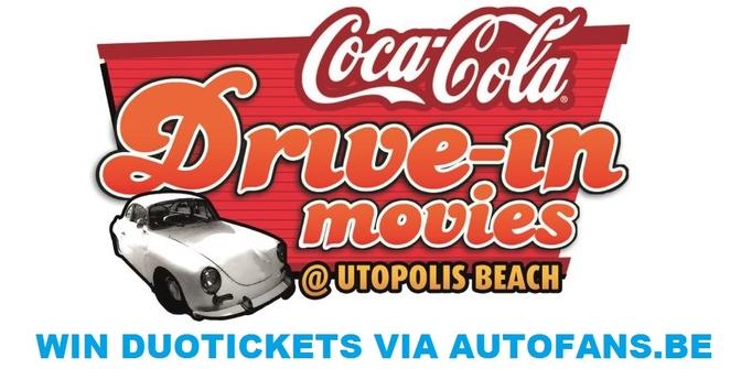WIN DUOTICKETS voor de Coca-Cola Drive-In Movies via AUTOFANS.BE