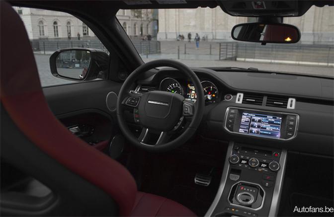 Land Rover Evoque krijgt 9 versnellingen