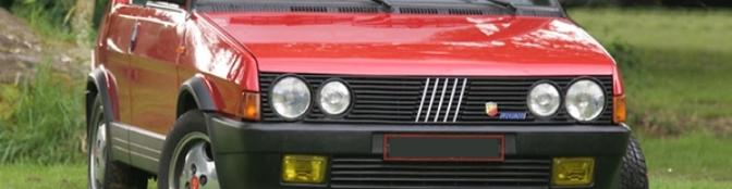 Fiat Ritmo -  vergeten auto's