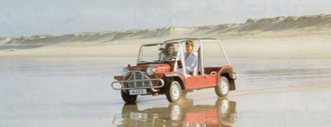 Vergeten auto #65: Mini Moke