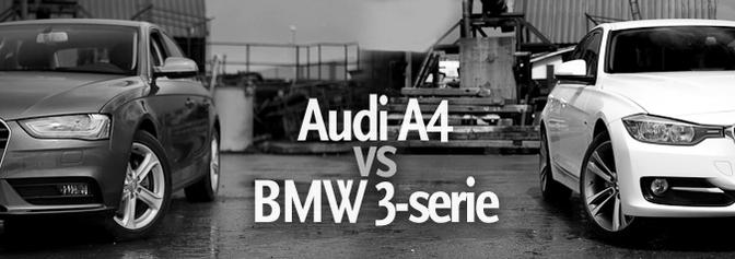 BMW 320d 2012 vd Audi a4 2.0 TDI 2012