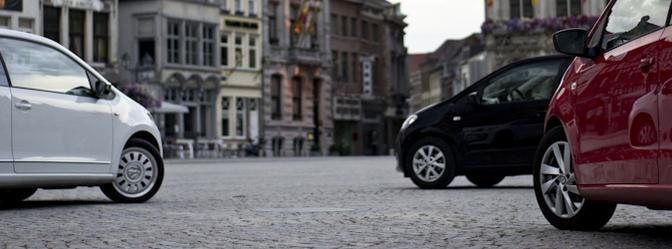 VW Up! Seat Mii Skoda Citigo rijtest