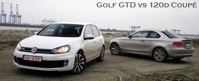 Rijtest: VW Golf VI GTD vs  BMW 120d Coupé | Autofans