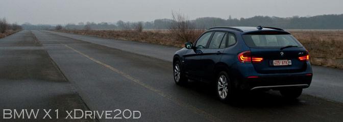 Rijtest BMW X1 xDrive20d