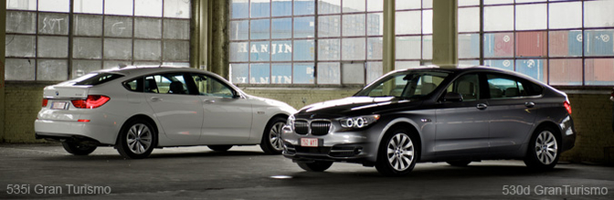 Rijtest : BMW 530d en 535i Gran Turismo