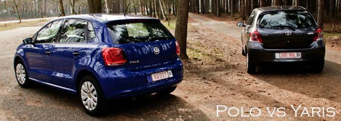 Rijtest Volkswagen Polo bleumotion technologie vs toyota yaris d4-d