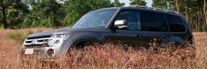 Rijtest: Mitsubishi Pajero 3.2 DI-D