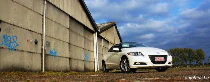 Rijtest: Honda CR-Z